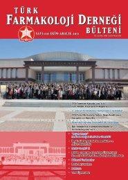 TFD Yönetim Kurulu 2011 Yılı Yarı Resmi Ara - Türk Farmakoloji ...
