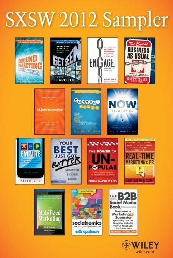 SXSW 2012 Sampler