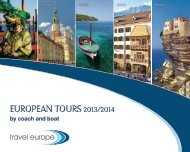 European Tours 2013 / 2014 by coach and boat - Travel Europe