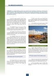 Subsidiary Companies - Tubacex