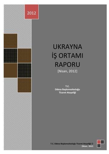 ukrayna iş ortamı raporu