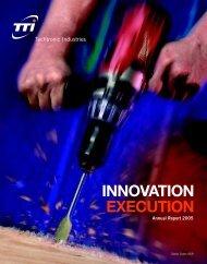 INNOVATION EXECUTION - TTI