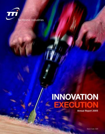 INNOVATION EXECUTION - TTI