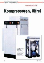 Kompressoren, ölfrei - HAUG Kompressoren AG