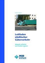 Leitfaden städtischer Güterverkehr - VCD