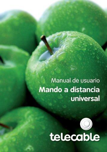 Mando a distancia universal - Telecable