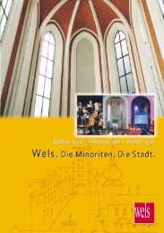 Minoriten - Folder (1 MB) - Stadt Wels