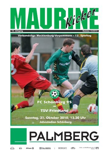 TSV Friedland - FC Schönberg 95