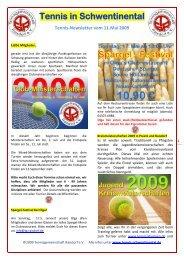 Tennis in Schwentinental