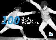 Festschrift - TSV 1880 Neu-Ulm