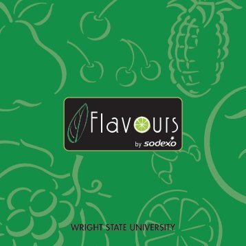 Flavours Everyday Guide - Dining Services, Wright State University