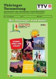 Februar 2009 - Thüringer Turnverband eV