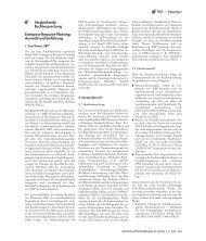 Vergleichende Buchbesprechung - Wirtschaftsinformatik
