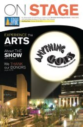 Anything Goes - Tennessee Performing Arts Center