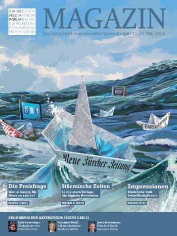 Magazin - Swiss Media Forum