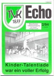Kinder-Talentiade - Turnverein 1877 eV Essen-Kupferdreh