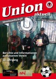 Unionaktuell - SV Union Essen-Frintrop 1913 eV
