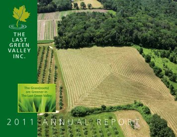 2011 ANNUA - The Last Green Valley
