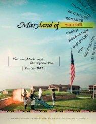2012 Tourism Marketing & Development Plan - Maryland