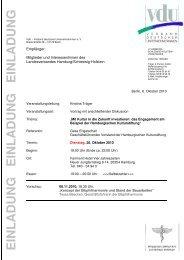 EL 26-10 HH Kulturstiftung - VdU