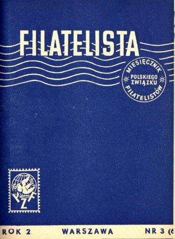 Filatelista Nr 06 - 03.1955.pdf - Polski Związek Filatelistów - Zarząd ...