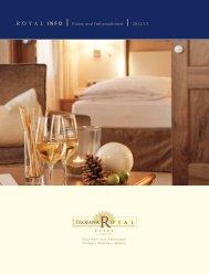 Royal INFO | Preise und Informationen | 2012/13 (1 - Trofana Royal