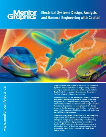 Electrical Systems Design, Analysis and Harness Engineering with ...