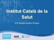 Institut Català de la Salut - World of Health IT