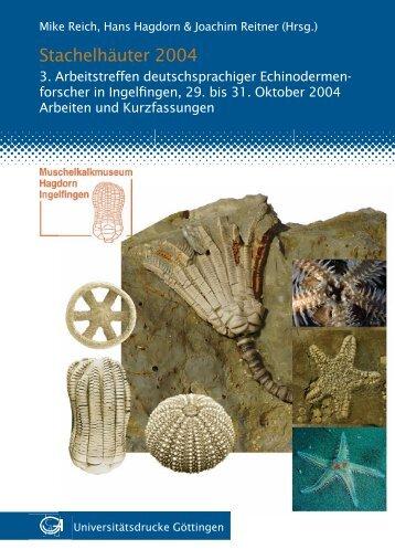 Stachelhäuter 2004 - GWDG