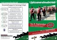 der Flyer zum Download - Lipizzanerheimat