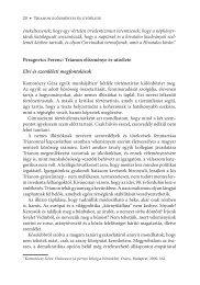 Peragovics Ferenc: Trianon előzménye és utóélete Elvi és ...