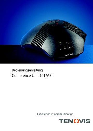 Conference Unit 101/AEI - LIPINSKI TELEKOM GmbH