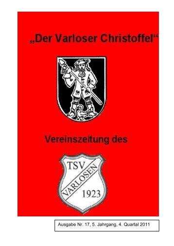 Vereinszeitung Nr.17, 4. Quartal 2011 - Varloser Crosslauf