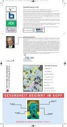 GESUNDHEIT BEGINNT IM KOPF - TREFFPUNKT Rotebühlplatz