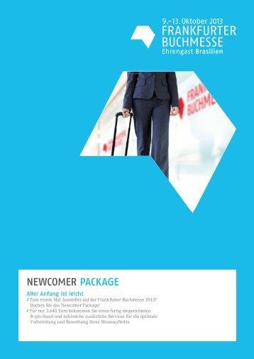 NeWcOmeR PacKaGe - Frankfurter Buchmesse