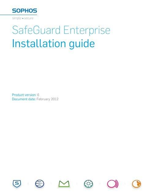 SafeGuard Enterprise Installation guide - Sophos