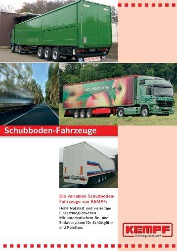 Schubboden-System - Fahrzeugbau KEMPF GmbH