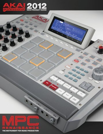 NEW PRODUCT GUIDE - Akai