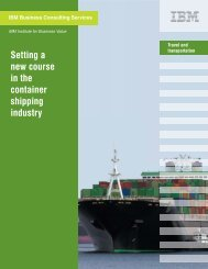 Setting a new course in the container shipping industry