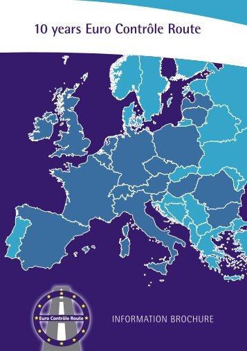 Brochure Anniversary - Euro Controle Route