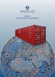 DIRECT CONTAINER INVESTMENT - Magellan-Maritime