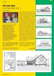 Von der Idee zum Eigenheim Teil 1 - Schöb AG