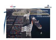 Container shipping: impact of mega-containerships on ports in ...