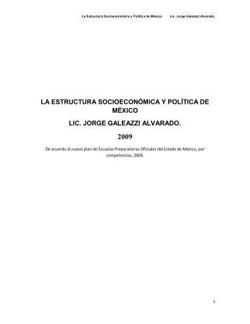 la estructura socioeconómica y política de ... - Monografias.com