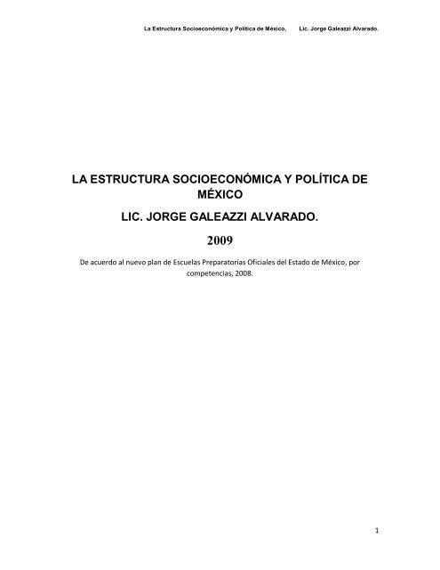 La Estructura Socioeconómica Y Política De Monografias Com