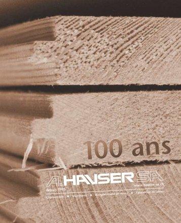 (quelques) chiffres - A.HAUSER SA