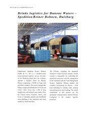 Spedition Reiner Bohnen - PSI Logistics GmbH