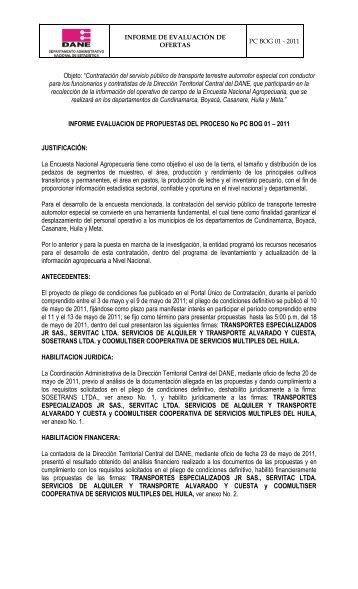 """Objeto: """"Contratación del servicio público de transporte terrestre ..."""