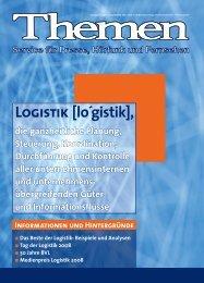 LoGistik [lo´gistik], - Die BVL
