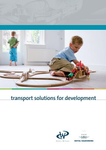 Transport Solutions for Development - Royal Haskoning in the UK